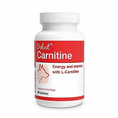 Dolvit L-Carnitine 90 Tablets For Dogs - Energy and Stamina During Exercise