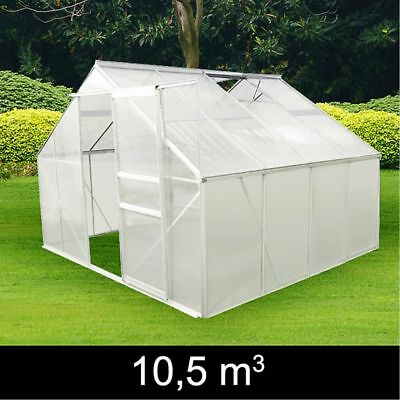 NEW Aluminum Greenhouse Building Plans Plants Vegetables UV Resistant 4 Models