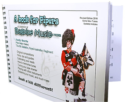 BAGPIPE BOOK by P/M Andy Gorrie