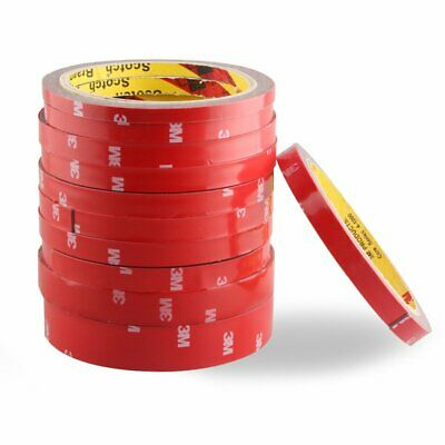 3M Auto Truck Car Acrylic Strength Double Sided Foam Attachment Tape Roll New UU