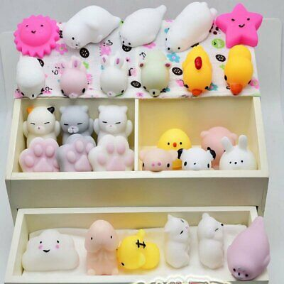 Cute Soft Animal Squeeze Squishy Stress Reliever Healing Fun Toy Gift Decoration