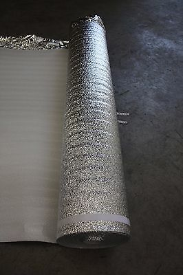 3mm Thick Silver Foil Flooring Underlay - Brand NEW - Sample Piece