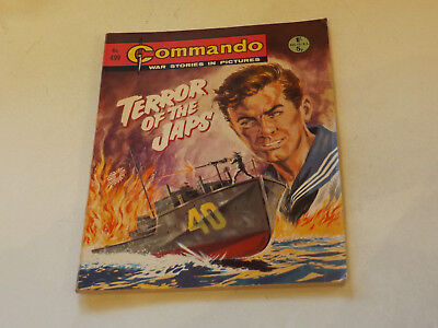 Commando War Comic Number 499,1970 Issue,v Good For Age,47 Years Old,very Rare.