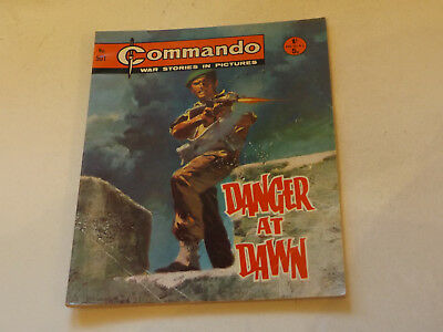 Commando War Comic Number 501,1970 Issue,v Good For Age,47 Years Old,very Rare.