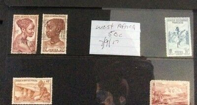 West Africa stamps