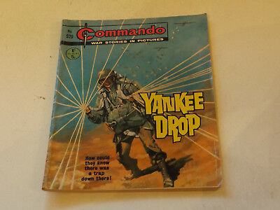 Commando War Comic Number 520,1970 Issue,v Good For Age,47 Years Old,very Rare.