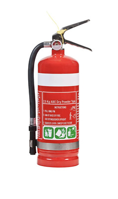 FIRE EXTINGUISHER - SALE - 2.5kg ABE (DCP) Dry Chemical Powder Fire Extinguisher