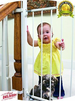 "EZ-Fit: 36"" Baby Gate Walk Thru Adapter Kit for Stairs + Child and Pet Safety"