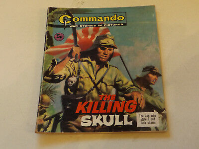 Commando War Comic Number 532,1971 Issue,v Good For Age,46 Years Old,very Rare.