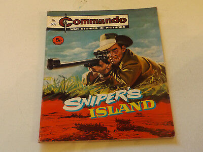 Commando War Comic Number 539,1971 Issue,v Good For Age,46 Years Old,very Rare.
