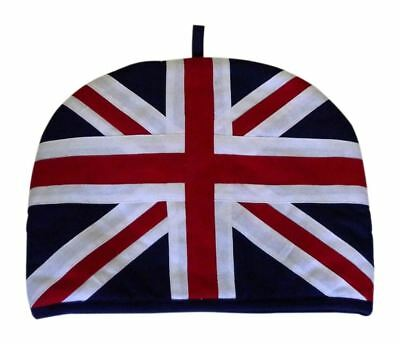 STERCK Union Jack Flag Tea Pot Cosy in Red White & Blue