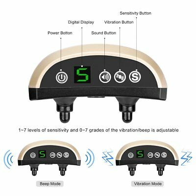 no bark collar rechargeable dog barking control training collar with beep