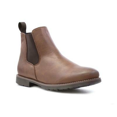 Beckett Mens Tan Chelsea Boot - Sizes 6,7,8,9,10,11,12