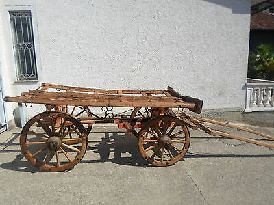 Antico Carro agricolo farm cart vintage restaurato restored