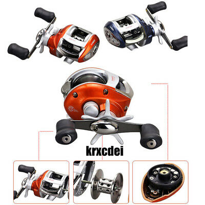 Right or Left hand Baitcasting Reel 12+1BB 6.3:1 Bait Casting Fishing Reel