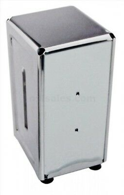 New Star 24074 Stainless Steel Tall Fold Napkin Dispenser, 3.875 by 4.75 by