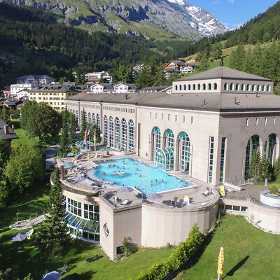 Alpen Wellness Kurzreise für die Familie @ 4* Thermalhotels + Therme Leukerbad
