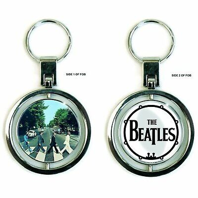 La pochette de l'album Abbey Road des Beatles filature Keychain cadeau officiel