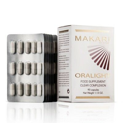 Makari Oralight Clear Complexion Capsules - Official UK Distributor