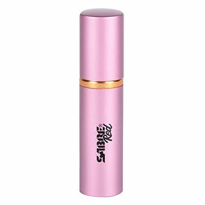 SABRE Red Lipstick Pepper Spray Police Strength Discreet, Pink, 10 Bursts &