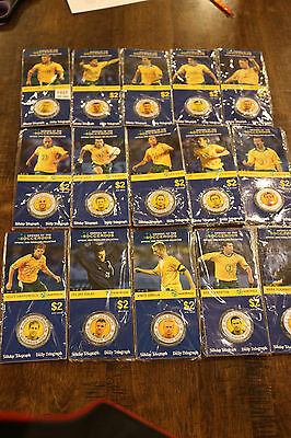 HEROES OF THE SOCCEROOS OFFICIAL 2006 MEDALLION COLLECTION Brand New