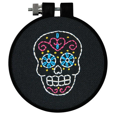 Dimensions - Embroidery Kit - Learn-a-Craft  - Sweet Sugar Skull - D72-74819