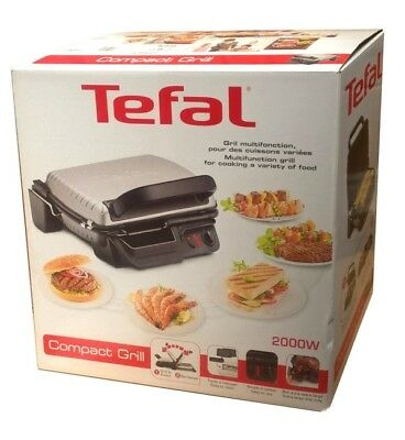 Tefal gc713d40 optigrill health grill with removable plates silver new from ao - Health grill with removable plates ...