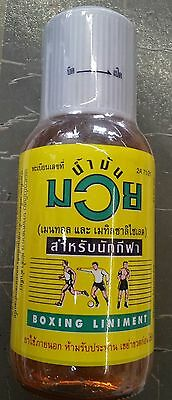 Namman Muay Thai Boxing Oil 450cc (Original from Thailand)UK Stock Fast delivery