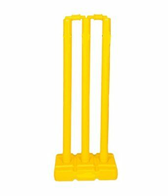"""NEW"" CW Cricket Heavy Duty Plastic Stumps Stand- 71cm -2 bails- High Quallity"