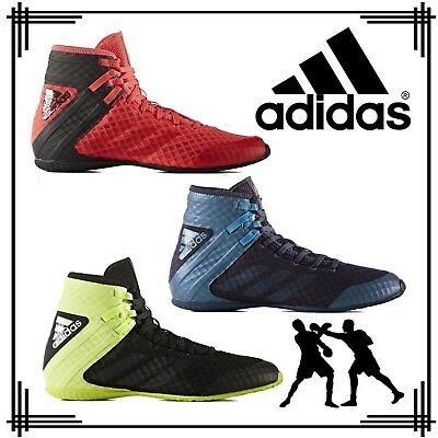 adidas Speedex 16.1 Men's Boys Lace Up Boxing Boots Sports Retro Style Trainers