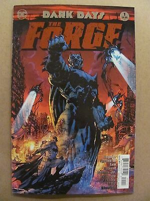 Dark Days The Forge #1 DC Comic 2017 Jim Lee Foil Cover 1st Print 9.6 NM+