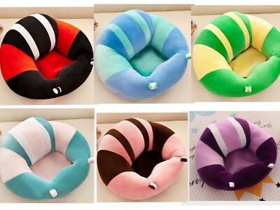 6 Colors Cotton Baby Support Seat Soft Chair Car Cushion Sofa Plush Pillow UK