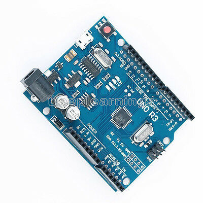 Latest Version UNO R3 ATMEGA328P​-16AU CH340G Micro USB Compatible For Arduino