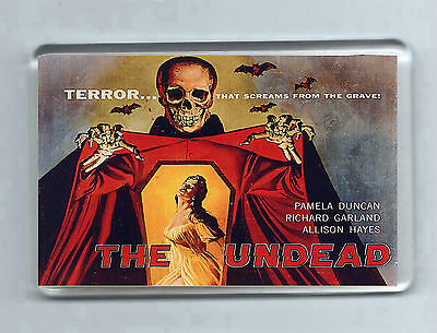 Retro Film Magnet: THE UNDEAD Horror