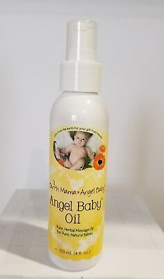 Earth Mama Angel Baby Angel Baby Oil 120 ml, 4 fl oz