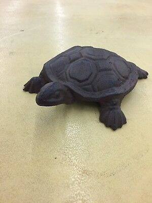 Large Cast Iron Turtle