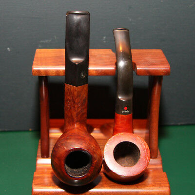 LOT of 2 French Estate Smoking Pipes : BUTZ CHOQUIN 1160 + DR. PLUMBS MATELOT