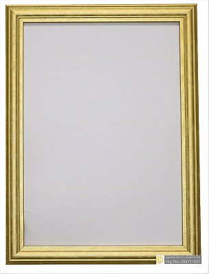 Home Decor Photo & Picture Frame Gold Antique Style Various Square Sizes