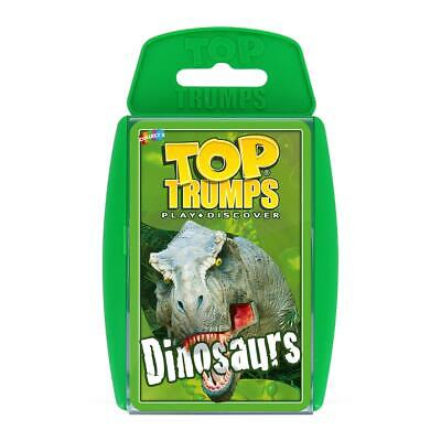 Dinosaurs Top Trumps Card Game