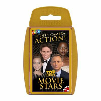 Movie Stars Top Trumps Card Game
