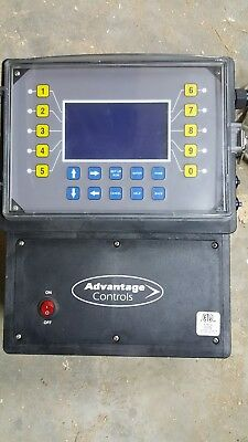 ADVANTAGE CONTROLS MegaTron MGB-X2-H1 CONTROLLER (AS PICTURED) *USED*