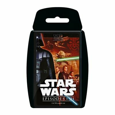 Star Wars 1-3 Top Trumps Card Game