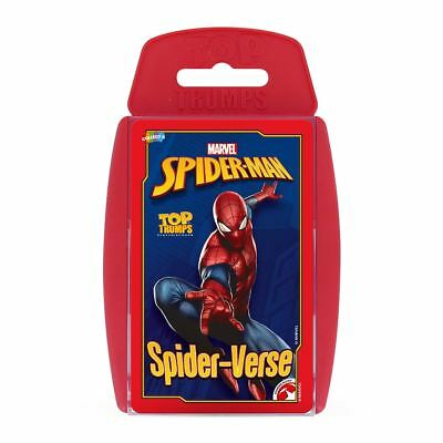 Spider-Man Top Trumps Card Game