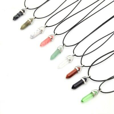 Crystal Pendant Necklace 25% off 4+  Healing Crystal Pendant Point