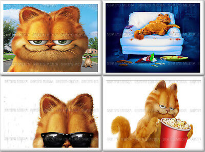 Garfield Fridge Magnet 50mm x 35mm