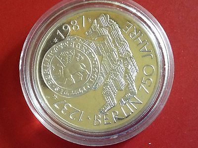 Germany 10 Mark 1987 Berlin  Proof Coin