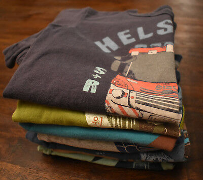 Boys Tea Collection Sz 5 HUGE lot!!! Boutique Brand 11 PIECES Fall Warm Hipster