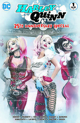 Harley Quinn 25th Anniversary Special ~ Comic Market Street Color Variant ~ DC