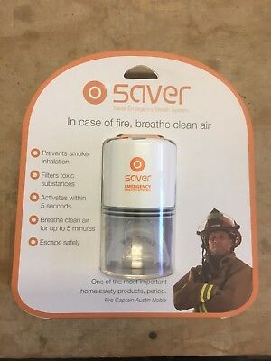 Saver Emergency Breath System - Fire Safety Breathing System (Set of 2)