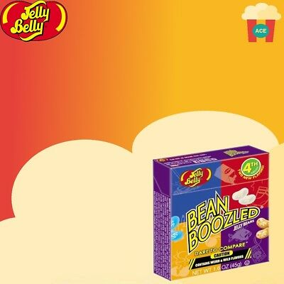 Jelly Belly Bean Boozled 4th Edition 45g Box Jelly Beans Free UK Delivery